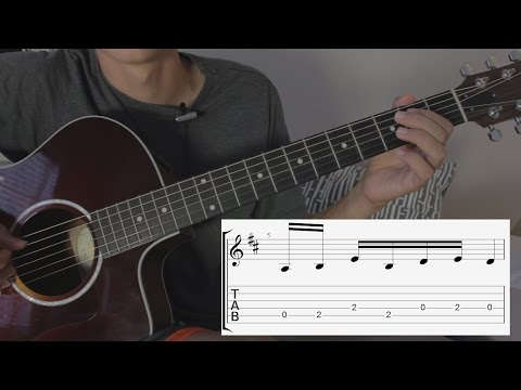 How to play Over the Hills and Far Away, Led Zeppelin (Intro)