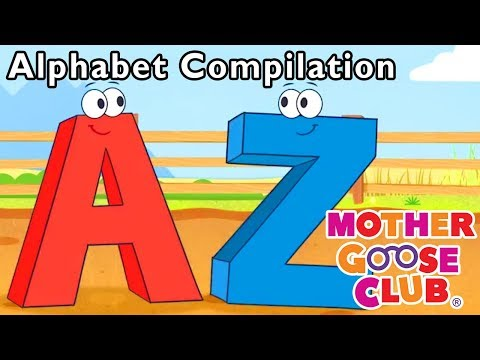 Simple Songs for Kids | Learn ABC Alphabet Compilation Baby Songs | Mother Goose Club | RHYMES