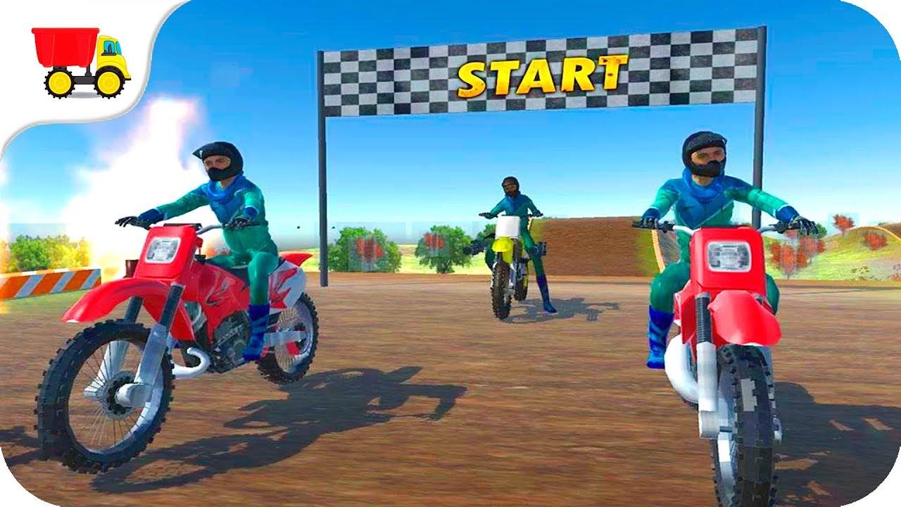 Bike Racing Games Dirt Bike Race Wars Stunt 3d