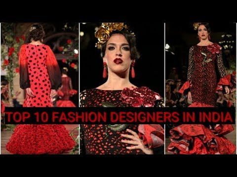 Top 10 Fashion Designers In India Youtube
