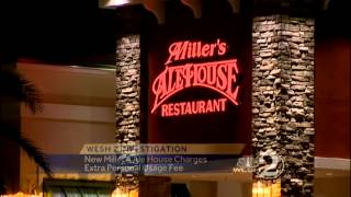 Miller's Ale House charging patrons usage fee