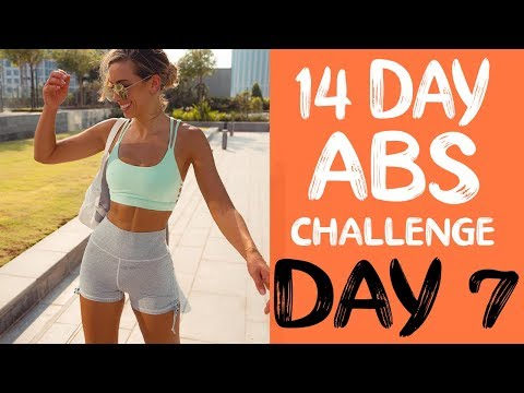 14 DAY ABS CHALLENGE | Workout 7 | LOWER ABS