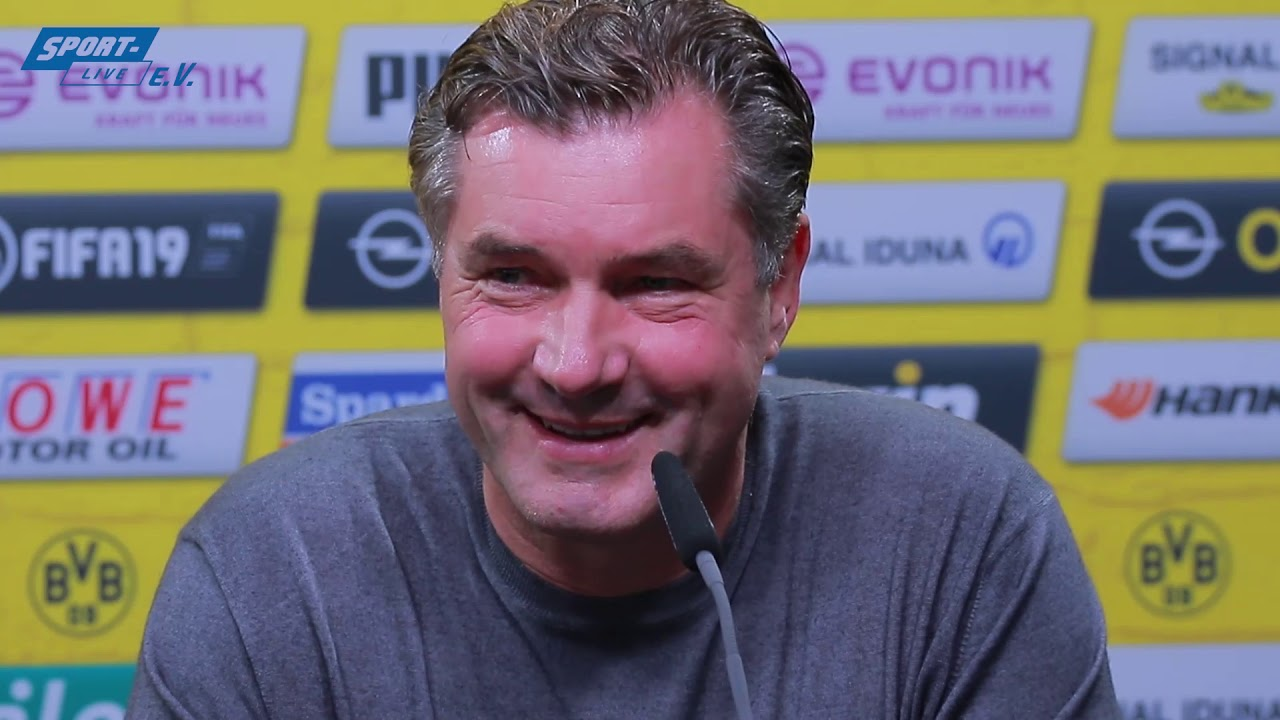 BVB-PK mit Michael Zorc vor Hoffenheim
