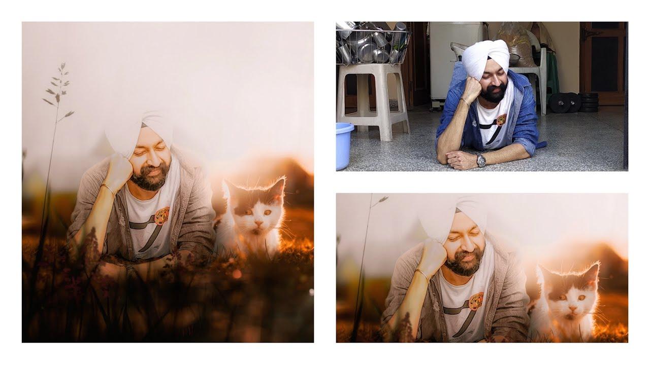 Photo Editing with Cat | Mobile में Photo Editing | हिंदी में