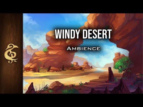 RPG/D&D Ambience - Windy Desert