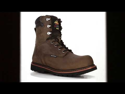 92ab60ac230 Men's Thorogood 8 Inch Composite Toe Waterproof & Insulated Work ...
