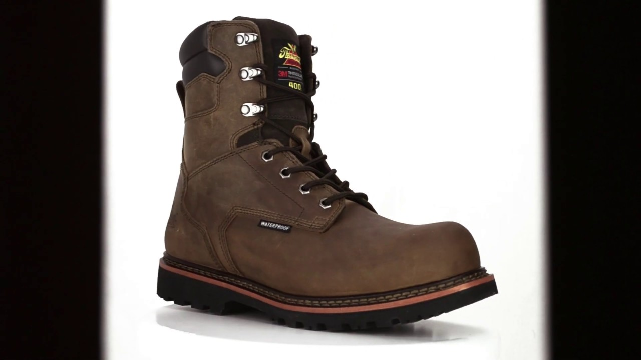 8df95fc9250 Men's Thorogood 8 Inch Composite Toe Waterproof & Insulated Work Boot  804-3238 @ Steel-Toe-Shoes.com