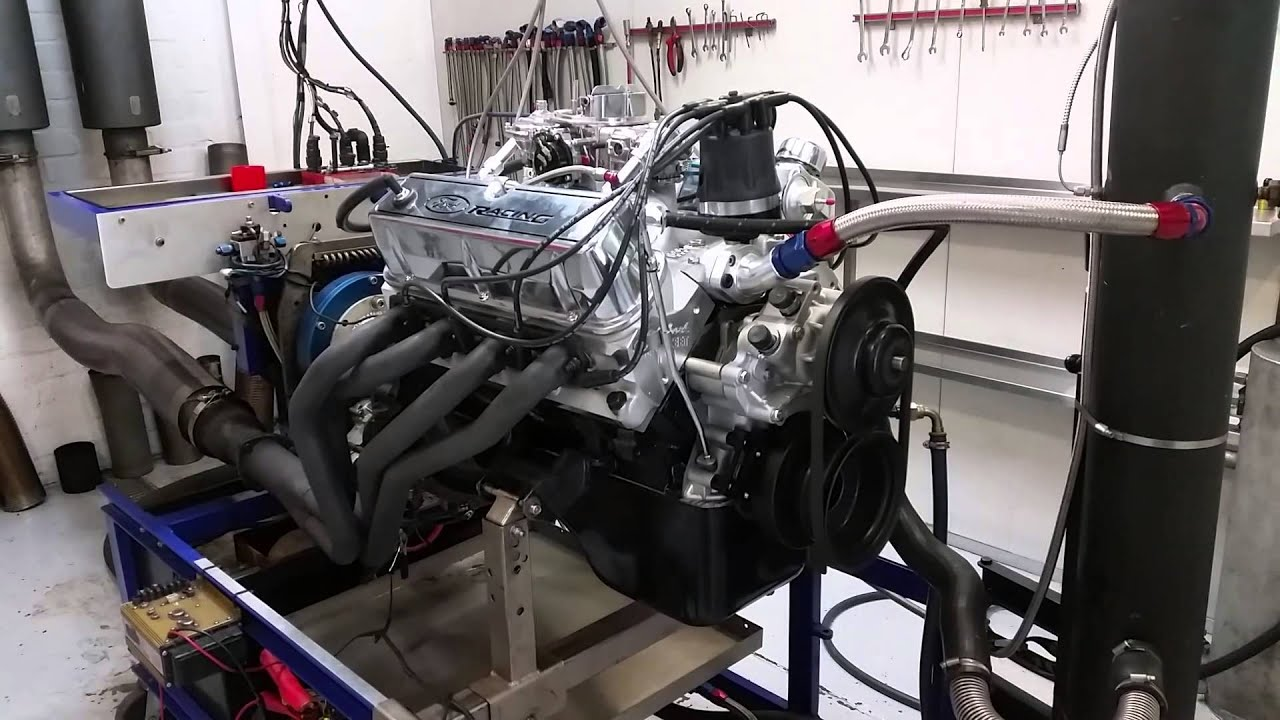 347w stroker on the dyno