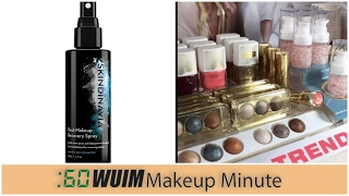 Makeup Minute | SKINDINAVIA MAKEUP RECOVERY SPRAY IS A HIT! + NEW, BEAUTIFUL, AND AFFORDABLE!