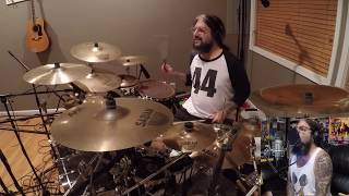 Mike Portnoy Drum & Vox Cam - Flying Colors Geronimo (STEREO HEADPHONE MIX)