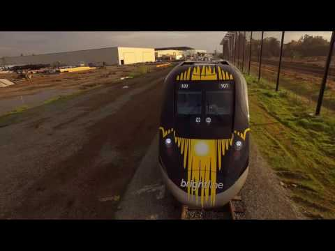 Brightline First Trainset Complete