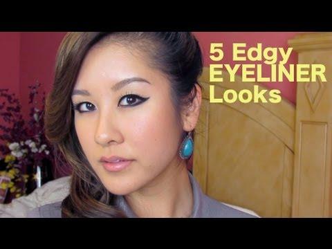 5 Edgy Eyeliner Looks