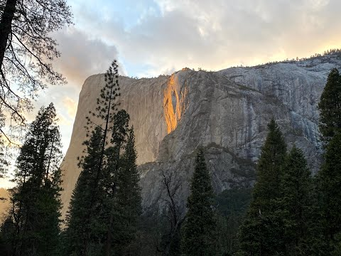 Photography Heaven!!! This is how Fire Falls 2020 looked like at Yosemite........Pre-Covid Times!