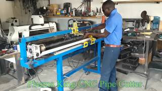 Plasma King CNC   part 7   Pipe Cutter