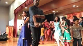 Download Hindi Video Songs - Shravya at hemachandra and sravana bhargavi concert @ Alabany 2
