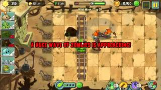 Wild West Day 19 - Plants vs Zombie 2 Walkthrough
