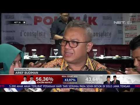 KPU Akan Selesaikan Prosedur Santunan Terkait Petugas KPPS Yang Sakit dan Meninggal NET24
