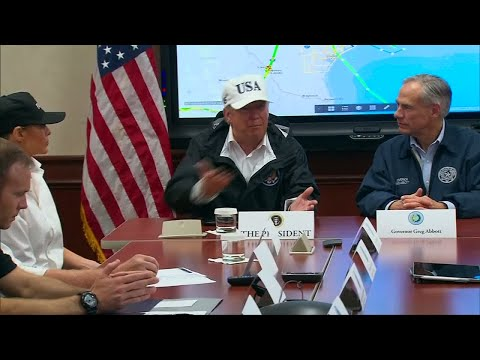 "US - President Trump on Harvey: ""There has never been anything so historic in terms of damage"""