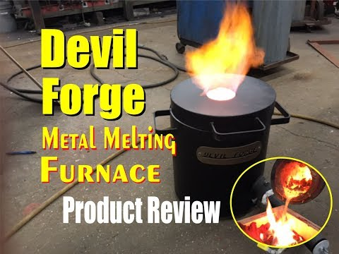 Devil Forge Metal Melting Furnace Product Review