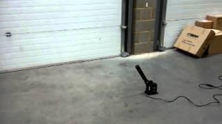 Magicfx-SHOWTEC FX Shot Electric Streamer Cannon 80cm Shooter Cannon Green Green