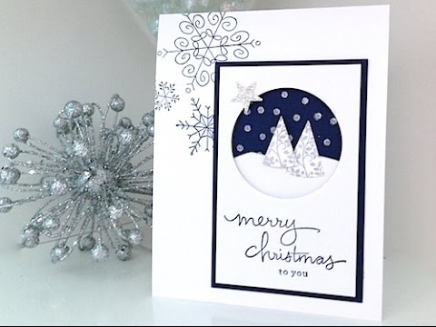 Simply simple flash card snow is falling christmas card by connie simply simple flash card snow is falling christmas card by connie stewart youtube m4hsunfo