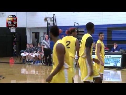 LMC Varsity Sports - Boys Basketball - Hawthorne-Cedar Knolls at Rye Neck - 2/1/16