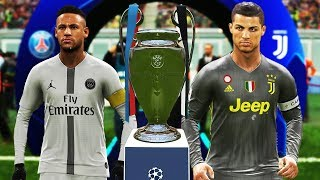 PES 2019 - Juventus vs PSG - Final UEFA Champions League [UCL] - Gameplay PC