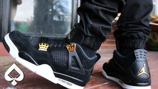 Air Jordan 4 Royalty ON-FEET (5 Pants)