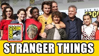 STRANGER THINGS Comic Con Panel - Season 2, News & Highlights