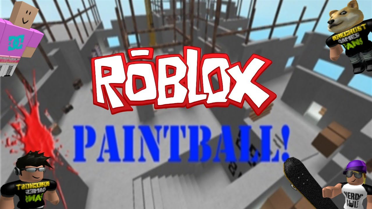 Family Game Nights Plays: Roblox - Paintball ...
