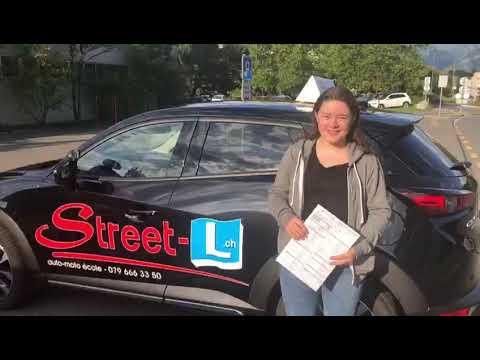 Bravo Julie Permis De Conduire Réussi Avec Street L Auto école 079 666 33 50