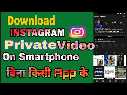 instagram video downloader private 2021