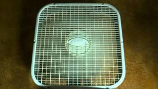 8hr box fan on low speed sleep sounds