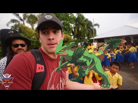 I CAUGHT A 100% SCEPTILE IN SAMOA!! IN REAL LIFE!! (BlickCait)