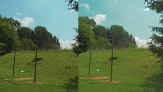 V Log(left) vs CinelikeD(on right)