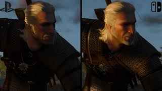 The Witcher 3: Wild Hunt | Nintendo Switch vs. PS4 - Graphics Comparison