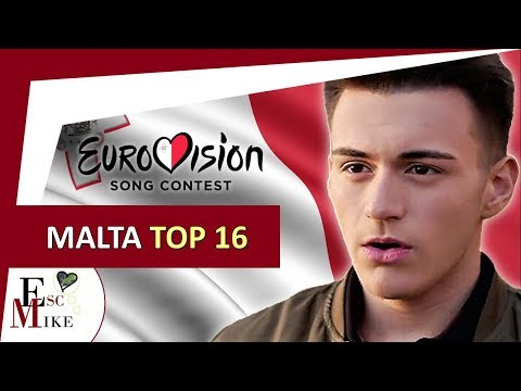 Eurovision Malta 2018 [MESC] - My Top 16 [With RATING]