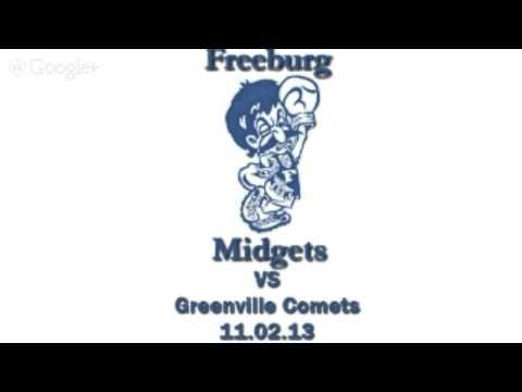 Freeburg Midgets vs Greenville Comets 11.02.13 v2