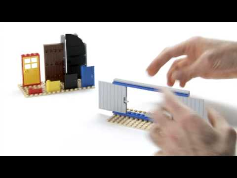How To Build Sliding Doors Lego Creator Designer Tips