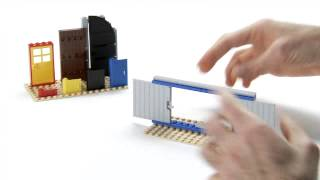 LEGO® Creator Designer Tips -- How to build sliding doors