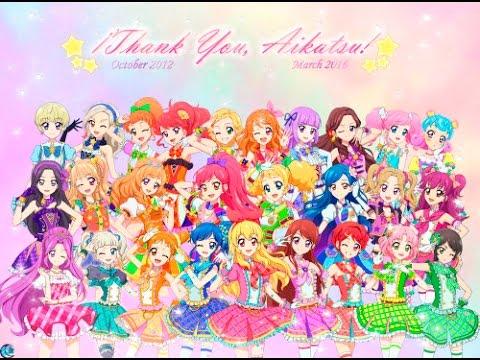 Aikatsu! My top 10 Idols