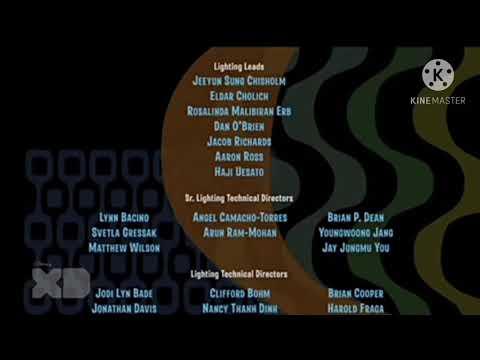 Rio End Credits On Disney XD