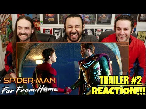 spider-man:-far-from-home---official-trailer-reaction!!!