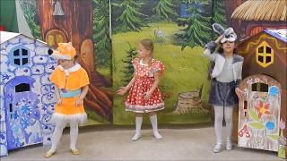 ЛОГОтеатр сказка Лиса и Заяц