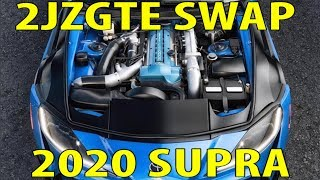 How to swap a 2JZGTE into the 2020 GR Supra A90
