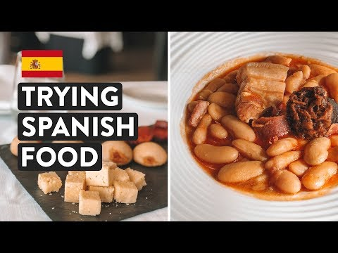 IS SPANISH FOOD GOOD? Ultimate Northern Spain Food Tasting | Asturias Travel Vlog