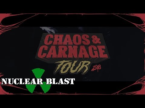 CARNIFEX - 2018 Chaos and Carnage U.S. Tour (OFFICIAL TRAILER)