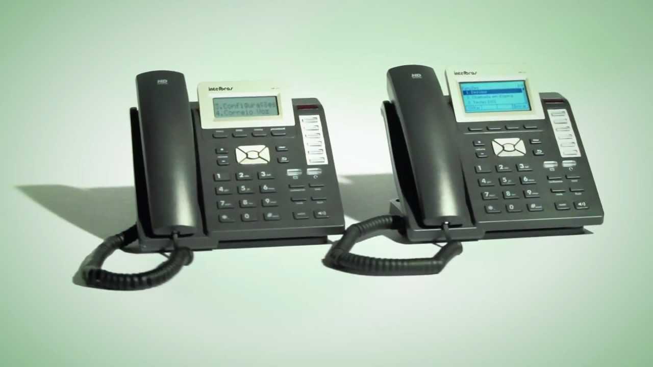 75ccfd880 Telefones IP TIP 200 e TIP 300 Intelbras - YouTube