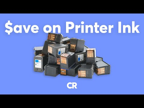 How to Save Money on Printer Ink | Consumer Reports