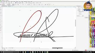 Assinatura Digital no Corel Draw Tutorial